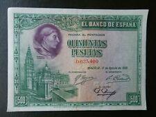 EBC - SIN SERIE - BILLETE DE 500 PESETAS DE 1928 - CARDENAL CISNEROS