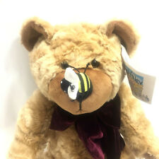 Animal Alley Teddy Bear Bumble Bee On Nose 12 Inch Stuffed Animal Plush 2000