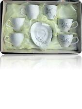 Porcelain Turkish /Arabic Coffee cup set 12 pcs