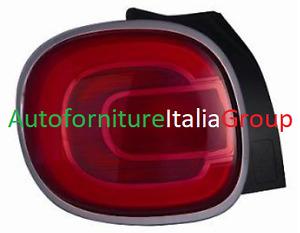 FANALE FANALINO STOP POSTERIORE SX SINISTRO PER 500L 12> DAL 2012 IN POI