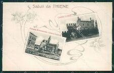 Vicenza Thiene Saluti da cartolina QK7920