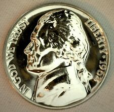 1962 Proof Jefferson Nickel 5c Five Cent Coin USA 5 Cents