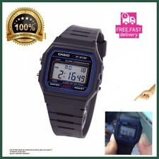 New Genuine Original CASIO F-91W Chronograph Digital Wrist Watch Unisex BLACK