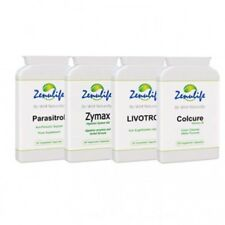 Herbal Detox Colon Cleanser + Liver Cleanse + Anti Parasite + Digestive Enzymes