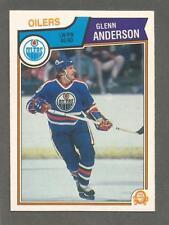 1983-84 O-Pee-Chee OPC Hockey Glenn Anderson #24 Edmonton Oilers NM/MT