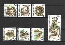 Gibraltar 2001 Animals - Reptiles - Snakes MNH