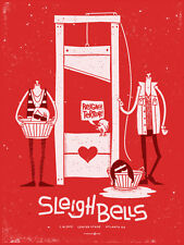 Sleigh Bells July 2012 Limited Edition Gig Poster