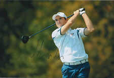 Oliver WILSON SIGNED AUTOGRAPH Golf 12x8 Photo AFTAL COA Ryder Cup Valhalla