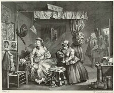 Hogarth Print Reproductions: A Harlot's Progress, Plate 3: Fine Art Print