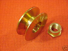 "Belt pulley V 5/8"" - 3/4"" 10DN 10SI 12SI Alternator 0.67"" / 17mm ID, 2.5"" / 63.5"