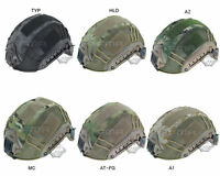 NEW Airsoft Military Paintball Tactical Combat Helmet Cover Skin for Fast Helmet