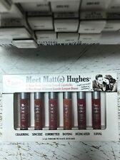 The Balms Cosmetics Meet Matt(e) Hughes 6 Mini Long Lasting Liquid Lipsticks