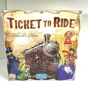 Days of Wonder Ticket to Ride Board Game Alan R Moon Complete