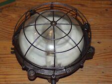 lampe applique hublot industriel bunker loft GAL (Gustave Arsene Lancelot )