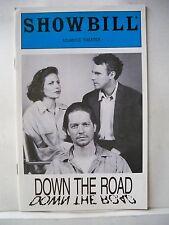 DOWN THE ROAD Playbill ERIC STOLTZ / JOHN DOSSETT / LISA EICHHORN NYC 1993