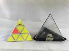Vintage Pyraminx by Tomy 1981 Pyramid Puzzle with Case RUBIK'S CUBE STYLE GAME