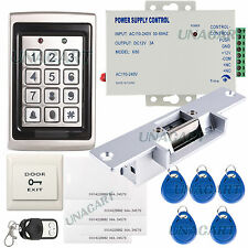 Full Complete Metal Shell Single Door Access Control Keypad Electric Strike Lock