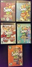 Sims 2 lot 5 Expansion packs and 4 stuff packs! 9 Sims 2 games! Good condition