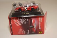 V 1:64 182 KYOSHO COLLECTION 8 FERRARI 512 BB LM LE MANS NART RED MIB RARE