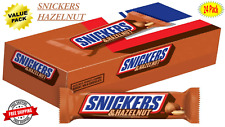 Snickers Hazelnut Singles Size Chocolate Candy Bars  24-Count Box - On Sale Now