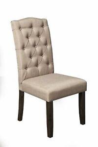 Alpine Furniture Newberry Parson Chairs, Salvaged Grey