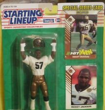 #57 Rickey Jackson 1993 Starting Lineup Figure New Orleans Saints Nfl Figure 🔥