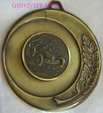 MED5848 - MEDAILLE CHIFFONS & VIEILLES VOITURES MOULEAU VILLAGE 1989