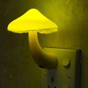 Warm Mushroom Bedroom Decoration LED Night Light