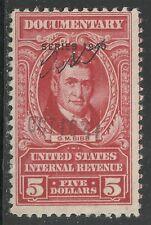 U.S. Revenue Documentary stamp scott r304 - $5.00 issue of 1940 - #4