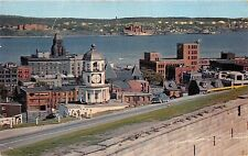 B84245 halifax harbour from the citadel  canada