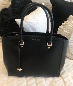 Michael Kors Large Black Classy Benning Tote Bag 30T8GN4S3L Rrp £360 💕