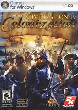 Civilization IV 4 COLONIZATION New World Sim PC Game - US Version - NEW in BOX!