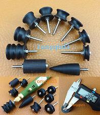 10pc LeatherCraft Cocobolo Skirt Chaser Burnisher Polished Slicker Grinding Tool