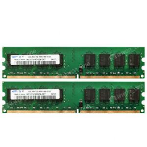 Samsung 8GB 2x4GB PC2-6400U DDR2 800MHz 240Pin UDIMM Desktop Memory For AMD CPU