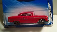 Hot Wheels 2010 Hot Auction *'55 CHEVY BEL AIR* Red 4/10 MOC