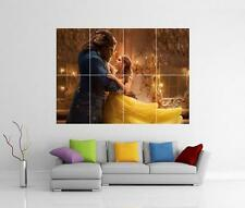 Beauty and the Beast la danse Giant Wall Art Imprimé Photo Affiche