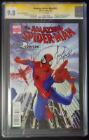 Amazing Spider-Man #623 Marvel Comics CGC 9.8 SS Variant Cover Joe Jusko Signed