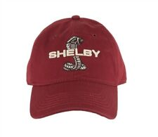 SHELBY Embroidered Super Snake Cobra Logo Red Hat Ford Mustang GT500 Terlingua