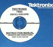 Tektronix Ops & Service Manual  for the 7503 Oscilloscope