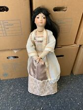 Wax Over Porcelain Doll 70 Cm. Top Condition / See Photos