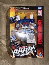 "Transformers War for Cybertron Kingdom Leader Class ULTRA MAGNUS 8"" WCF-K20"