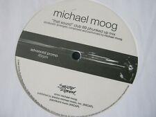 "RECORD 12"" SINGLE MICHAEL MOOG THAT SOUND White Vinyl 2372"