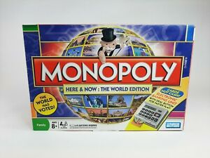 Monopoly Here And Now The World Edition -  With Electronic Banking Unit -  2008