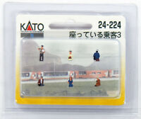 "Kato 24-224 Model People ""Sitting Passenger 3"" (N scale)"