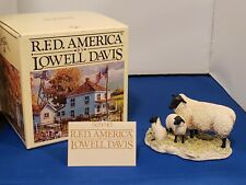 """New Rare Lowell Davis """"Missouri Spring�A Mother Lamb and Her Two Babies 225278"""