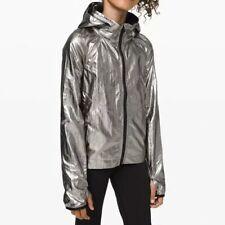 Ivivvia Lululemon Your Pursuit Kids Jacket Silver New W/tags