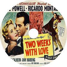 Two Weeks with Love DVD Jane Powell Ricardo Montalbán 1950 Rare
