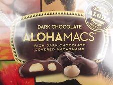 Dark Chocolate Macadamia Nuts 12 pieces Hawaiian Host Alohamacs 6 oz FREESHIP