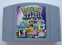 *GOOD* Pokemon Puzzle League Nintendo 64 N64 Tetris Video Game Super Fun Retro