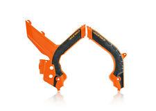 Acerbis Frame Guards KTM EXC EXC-F XC-W TPI 150 250 300 350 450 500 2020 OR BLK